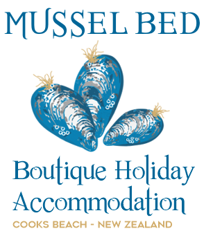 Mussel Bed Boutique B&B Cooks Beach